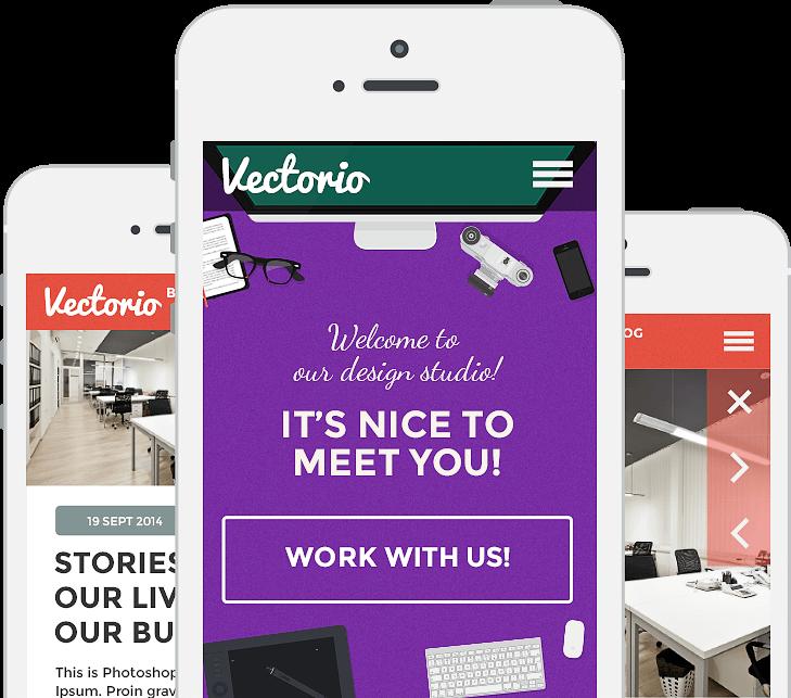 vectorio iphone