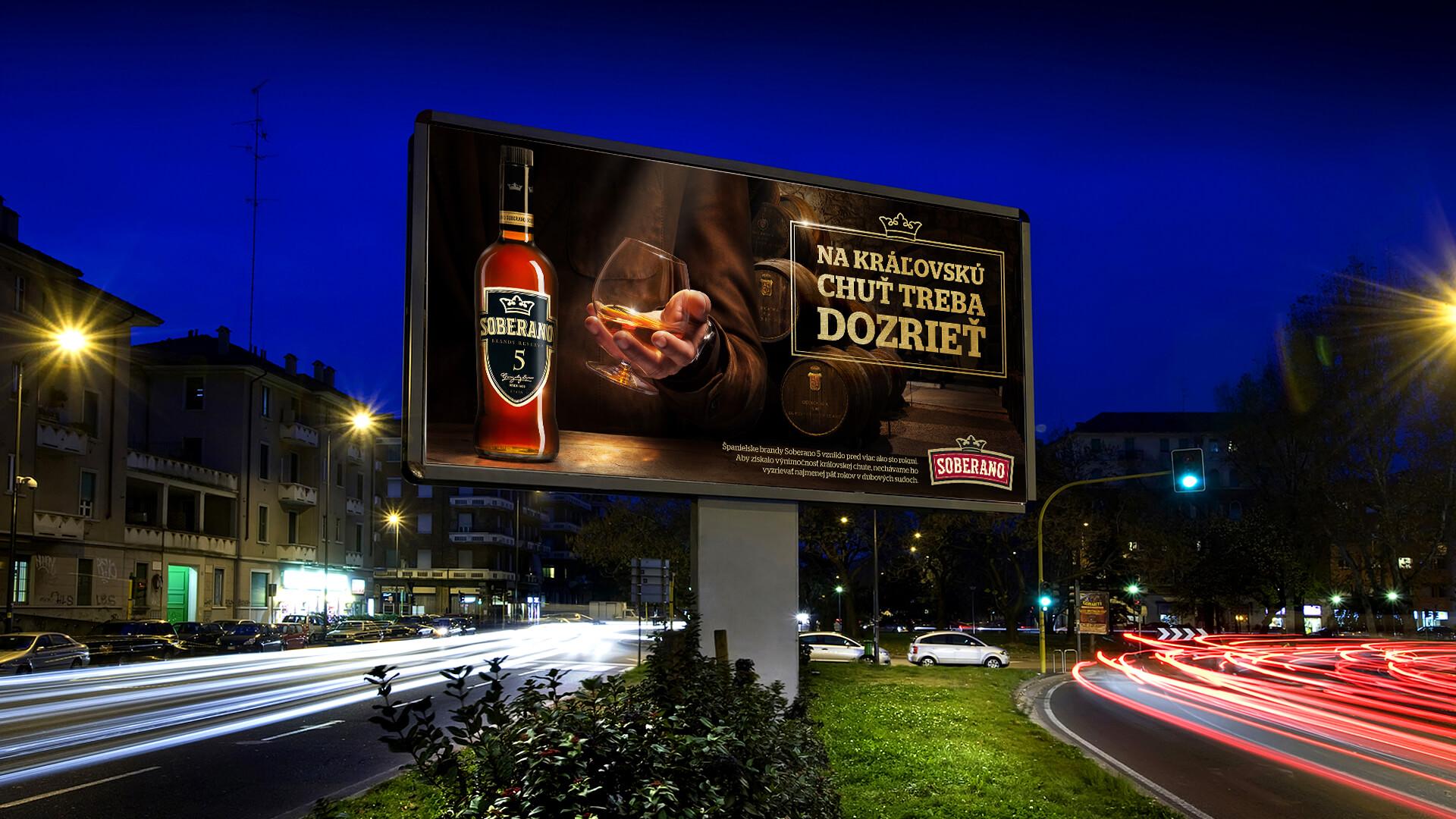 soberano billboard