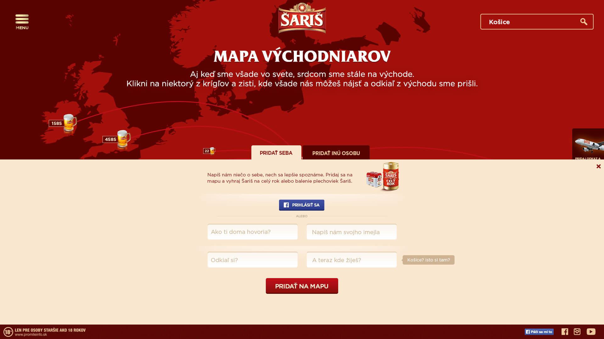 saris web